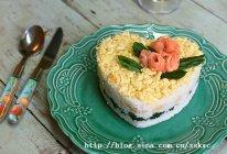 三文鱼寿司蛋糕的做法