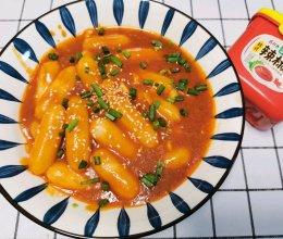 #一勺葱伴侣,成就招牌美味#韩式炒年糕的做法