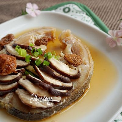 西梅香菇蒸鳕鱼_开胃低脂