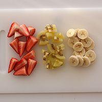 開放式水果三明治的做法圖解2