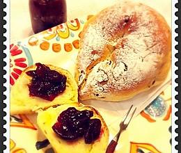 手工欧式奶酪软麦包的做法