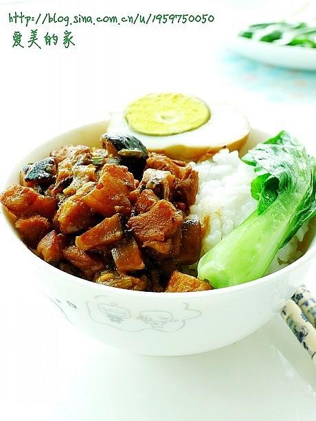 台湾人气美食肉燥饭的做法