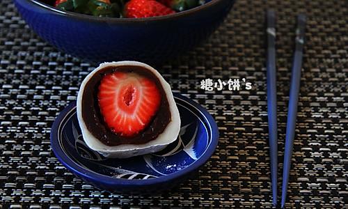 【草莓大福】的做法