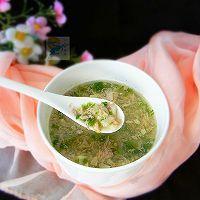 火腿珍珠汤#柏翠辅食节_营养佐餐#