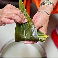大枣粽子的做法图解7
