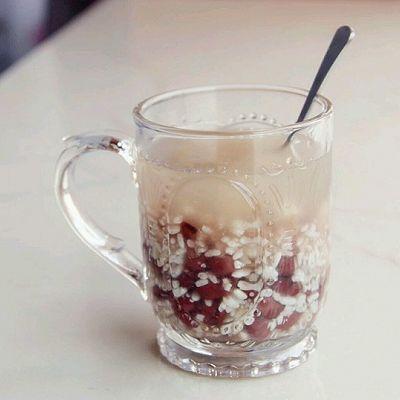 世界杯特辑 夏季降温冰饮 赤豆冰酒酿