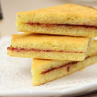【番茄配方】果酱三明治蛋糕