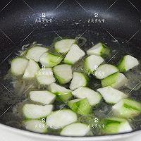 虾皮丝瓜豆腐汤的做法图解5
