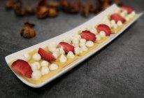 奶油草莓鸡蛋饼的做法