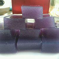 椰蓉胡萝卜冻和椰蓉紫甘蓝冻的做法图解6