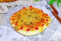 #换着花样吃早餐#黑胡椒牛排花式披萨的做法