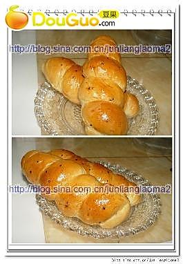 海螺面包的做法