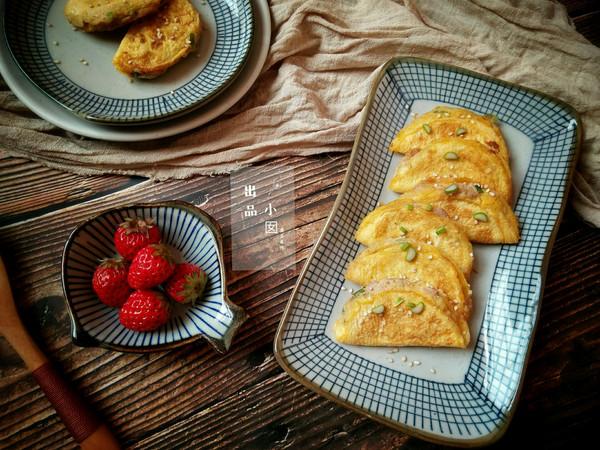 黄金蛋饺――回忆三十年前的做法