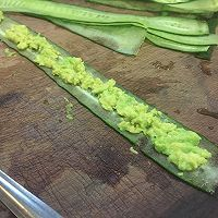 牛油果黄瓜卷#急速早餐#的做法图解1