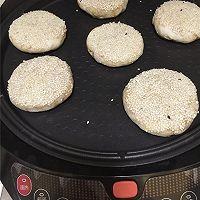 芝麻烧饼--利仁电饼铛试用的做法图解10