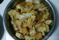 白菜粉条炖豆腐的做法