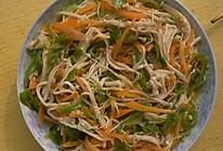 炒金针菇的做法