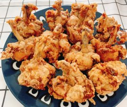 越吃越瘦的香酥炸鸡翅根哈哈的做法