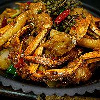 香辣蟹炒年糕---又到一年吃蟹时的做法图解25