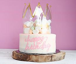皇冠可可海绵蛋糕的做法