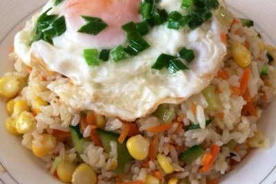 早餐—玉米炒饭
