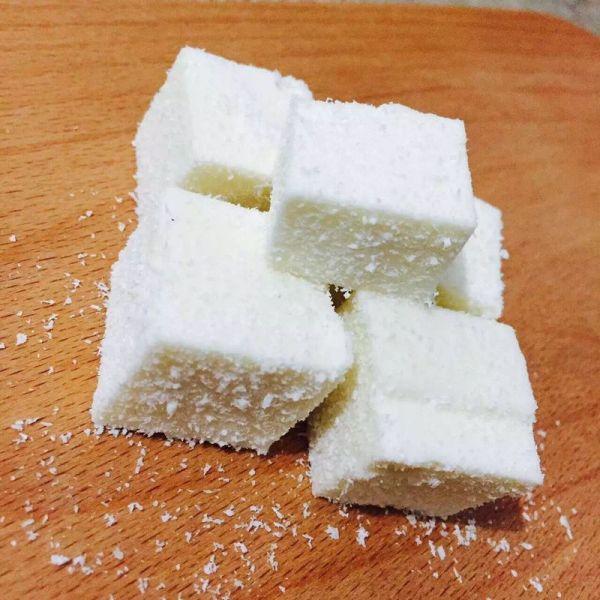 椰子糕/椰奶冻的做法