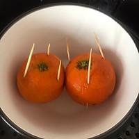 橙子蒸蛋的做法图解2