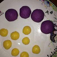 紫薯奶黄糯米糍的做法图解10