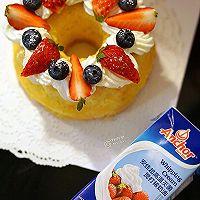 水果奶油萨瓦林蛋糕#安佳烘焙学院#