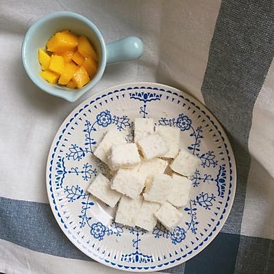 椰丝牛奶冻(吉利丁粉版)