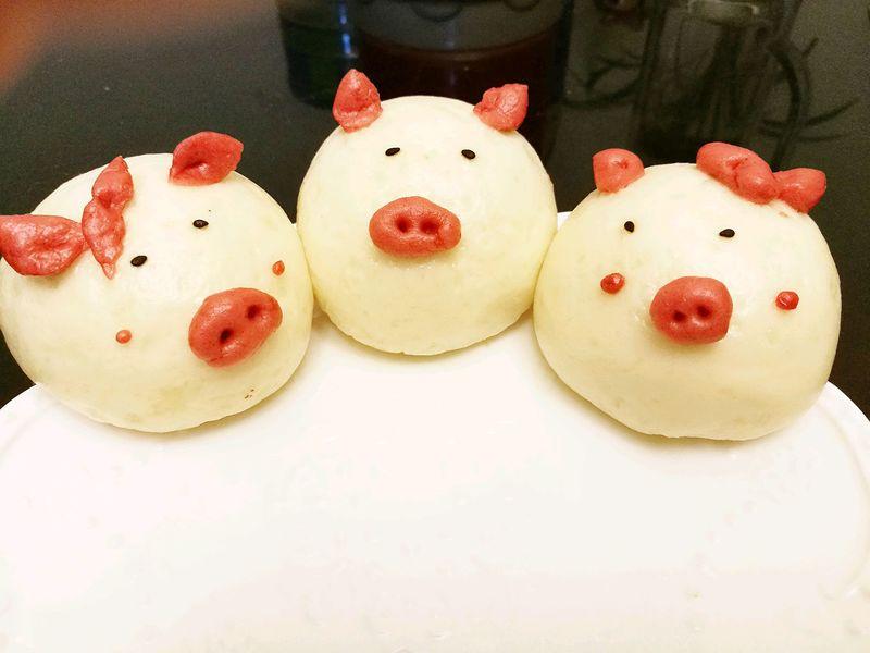 萌萌哒~小猪菜包