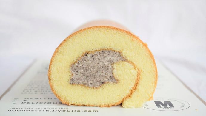 #硬核菜谱制作人#奥利奥奶油蛋糕卷