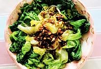 蚝油生菜的打开方式的做法