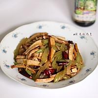 #菁选酱油试用之西芹豆干