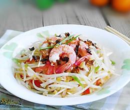 泰式青木瓜虾沙拉的做法
