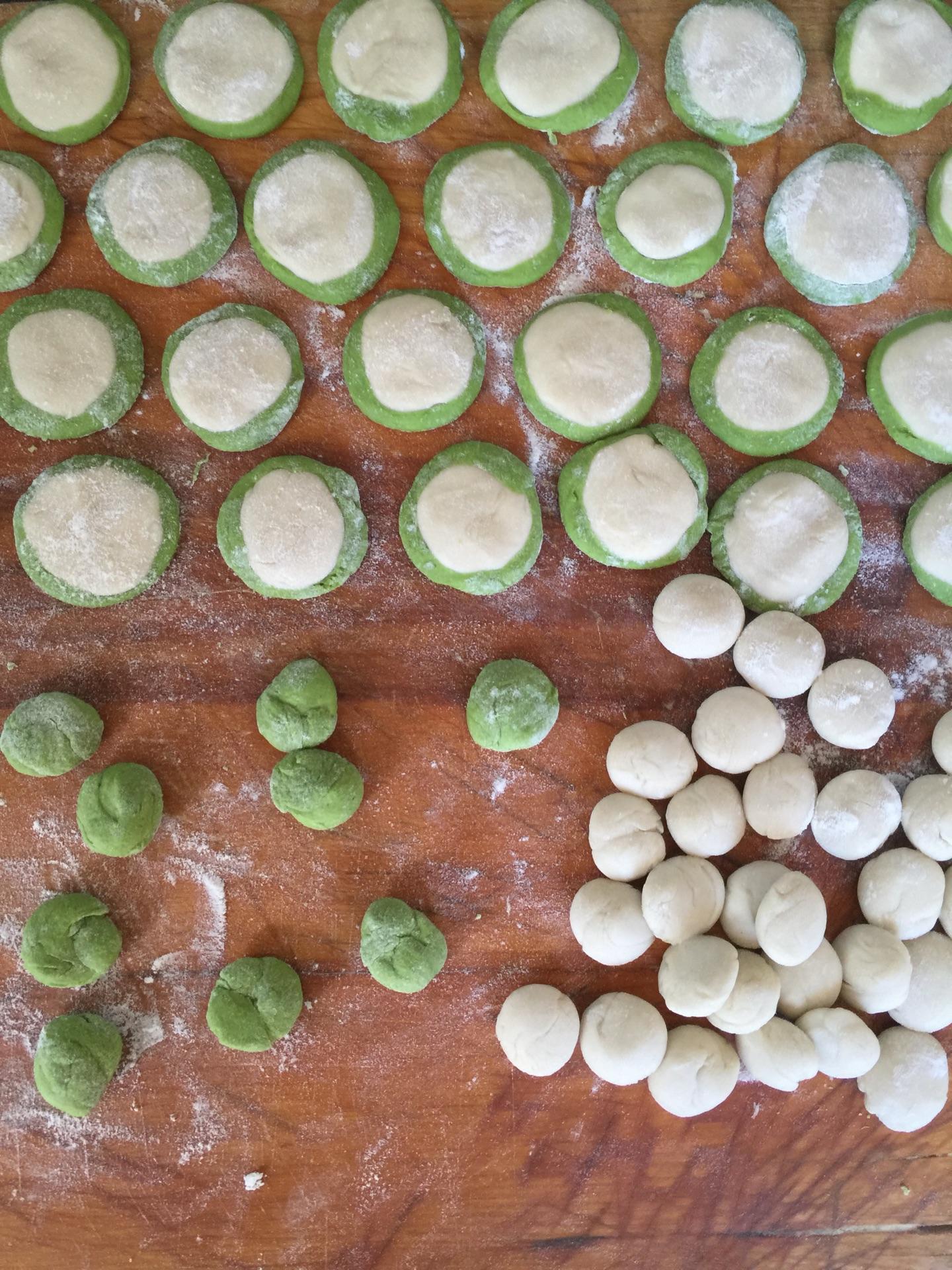 彩色饺子的做法图解8