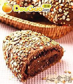 杂粮红豆面包的做法