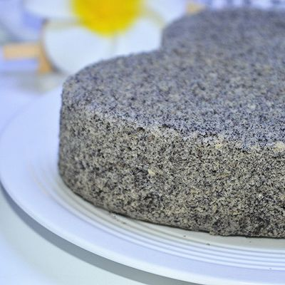 自制黑米糕
