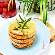 #夏日撩人滋味#无油香蕉鸡蛋燕麦饼