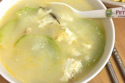 廣東湯節瓜咸蛋魚湯