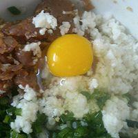 马蹄三鲜煎饺的做法图解1