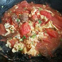 鸡蛋西红柿面条的做法图解8