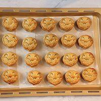 斑斓椰蓉和抹茶红豆馅月饼的做法图解24