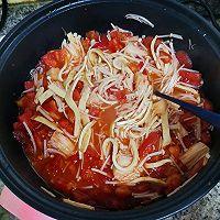 减肥晚餐(金针菇番茄汤)的做法图解5