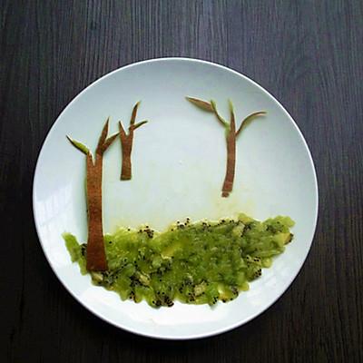 创意水果拼盘——童话的做法_【图解】创意水果拼盘—图片