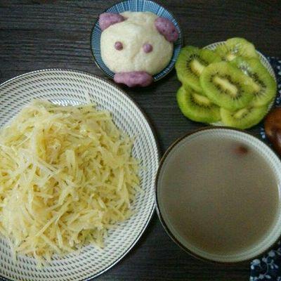 小猪紫薯餐包