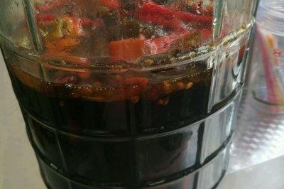 爽口腌辣椒