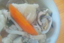 海鲜面疙瘩汤的做法