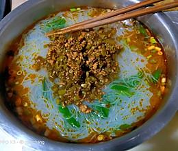 红油酸菜粉丝的做法