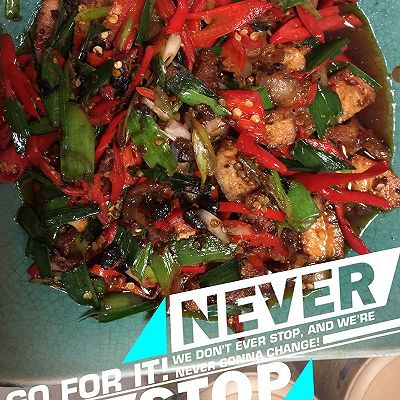 蒜苗回锅肉的做法 步骤8